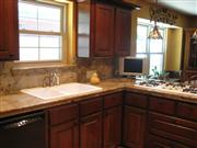 Golden Wave Granite Kitchen Top