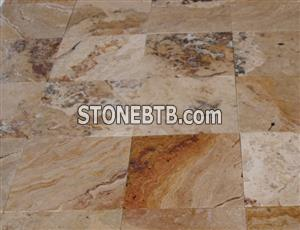 Sunny Travertine Honed Unfilled