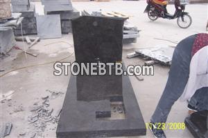 Limestone Black Monument