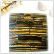Tiger eye mosaic