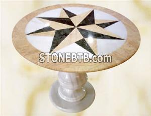 Marble Tabletop, Stone Furniture