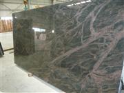 Polished green granite slab Indian Aurora