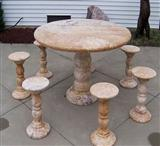 Stone Table, Table Set