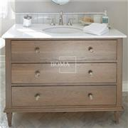 Single Sink Corner Bathroom Drawer Vanity Cabinet 30 Inch