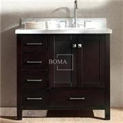 36 Wooden Base Bathroom Vanity Cabinets Only Espresso