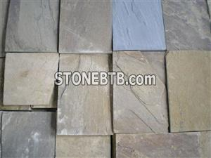 Brown sandstone- machine formed