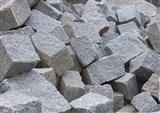 Granite paving blocks, cube stones