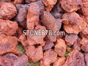 Red Lava Rock Lave Stone