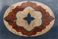 Inlaid Policrome Rosace