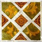 Alpha Green-Gold Metal Tile
