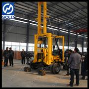 XYX-3 trailer mounted water well drilling rig