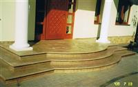 Granite, marble, travertine steps and stairs
