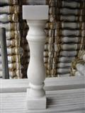 White Marble Balustrade