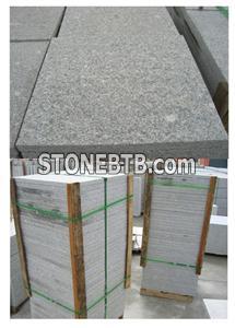 Flamed G341 Grey Granite Tile