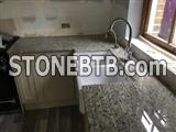 Buy Ambrosia White Granite Kitchen Countertops at Low Costs in London