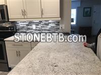Colonial White Granite Kitchen Countertops at Cheap Price London