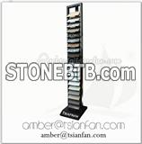 Quartz Stone Sample Display Tower for Granite , Marble - Tsianfan SR087