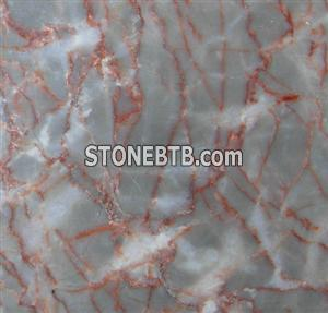 Marble Agate Red