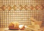 Mosaic - Travertine, Marble