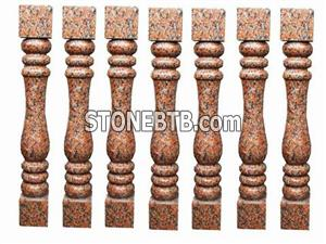 Red Balusters