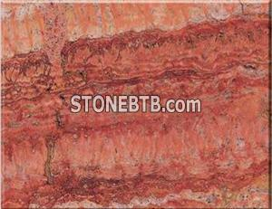 Red Traverine Marble