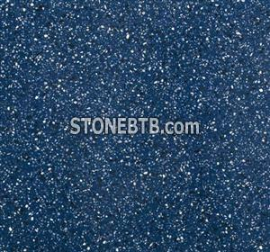 Blue Artificial Stone