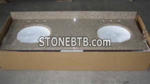 G682 Granite Bathroom Vanity tops