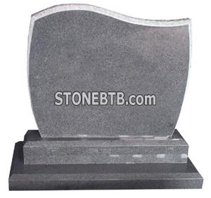 White Granite Monument Tombstone
