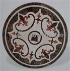 Marble Inlay Pattern Stone Medallions
