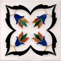 Inlaid marble tilesO1-16
