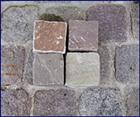 Imported paving stones