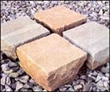 Imported sandstone paving stones
