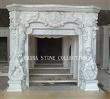 Stone Fireplace, Marble fireplace