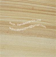 Yellow Woodgrain Sandstone
