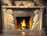 Character Fireplace MBR064