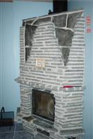 Kvemo Skifer - Slate Fireplace