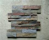 Rustic quartzite decorative panels