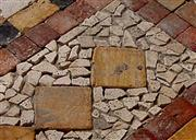 Travertine Tumbled Mosaic
