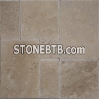 Hazelnut Versailles Pattern Travertine