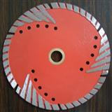 Diamond saw blade with Teeth