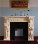 Character Fireplace MBR007