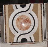 Marble Waterjet Medallion