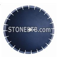 Asphalt diamond saw blade