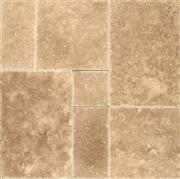 Walnut Premium Versailles Pattern Travertine