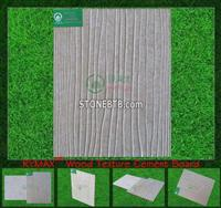 RYMAX Wood Texture Cement Board | Wall Panel