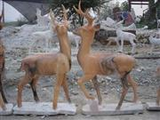 Carved Marble Deer MD009