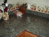chinese green counter top