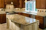 Gold Brasil  granite counter top