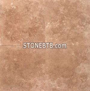 Mocha 24x24 Polished Travertine Tile