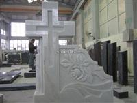 Cross Carving Headstone